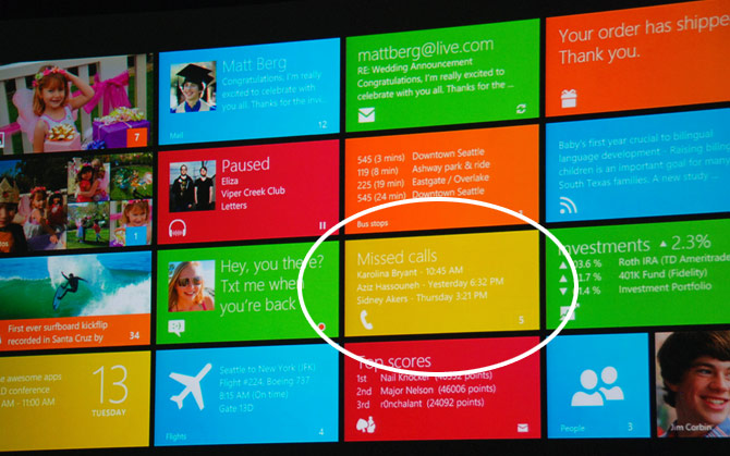 Windows 8 phone functionality spotted