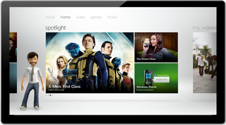 Microsoft talks Xbox LIVE on Windows 8