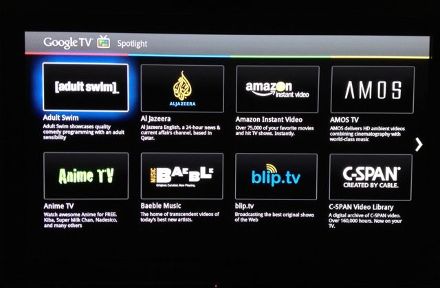 Google TV 2.0 update with Android Market leaks in screenshots