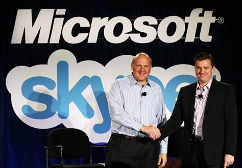 Microsoft Skype buy approved by EU