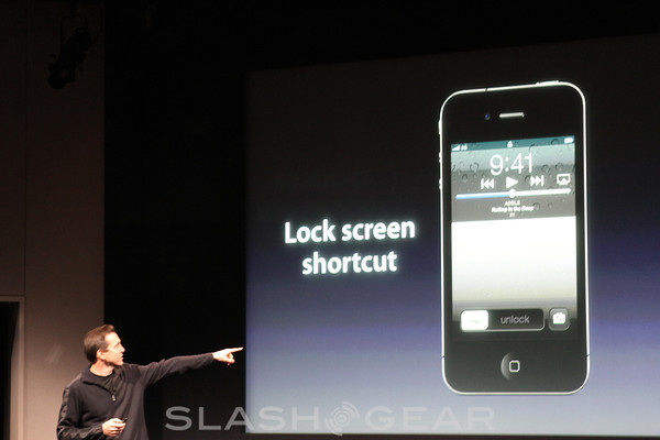 iOS Camera updated to work from lock screen – amongst other re-confirmed iOS 5 features