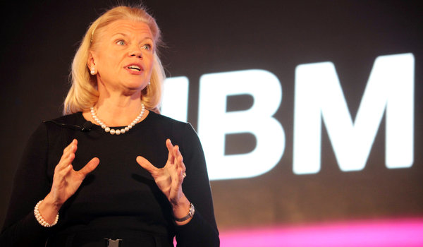 IBM names new Chief Executive, Virginia Rometty