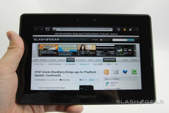BlackBerry Playbook RadioShack price reduction in effect