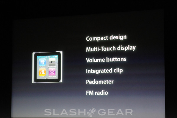 Apple unveils new iPod nano, most affordable yet