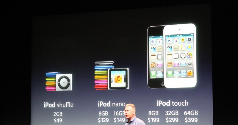 Apple announces new iPod touch with Retina Display, Face Time