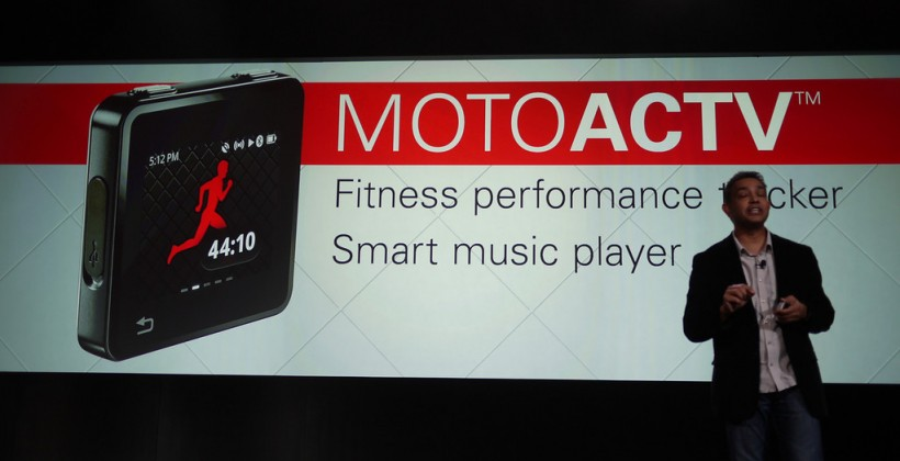 Motorolo MOTOACTV takes on iPod nano
