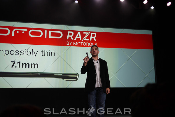 Motorola officially unveils the DROID RAZR