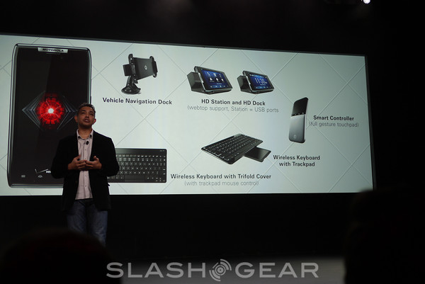 Motorola DROID RAZR boasts a ton of accessories