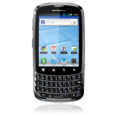 Motorola Admiral push-to-talk QWERTY Android announced