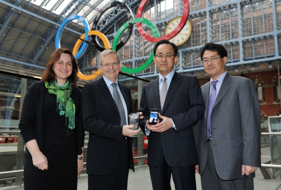 Samsung VISA and NFC confirm partnership for Olympics 2011 phone