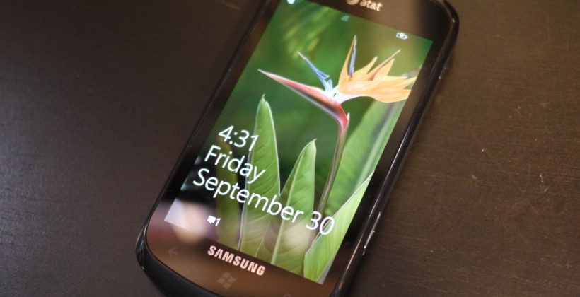 Samsung Focus Hands-on and Unboxing with Windows Phone 7.5 Mango [Video]
