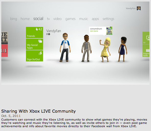 Xbox 360 TV expanded experience made official - SlashGear