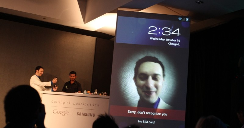 Android Face Unlock might be fooled with a photo