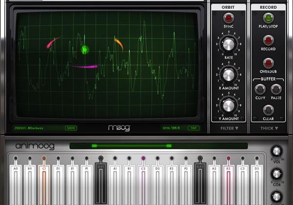 Moog outs sweet Animoog iPad synthesizer app