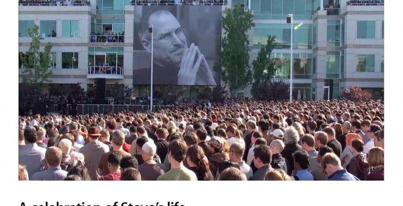 "Apple ""Celebrating Steve"" memorial video released"