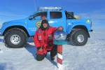 Arctic Trucks sets world record for fastest trek from Antarctica to the South Pole
