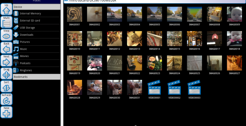 ASTRO File Manager enhanced for Android tablets