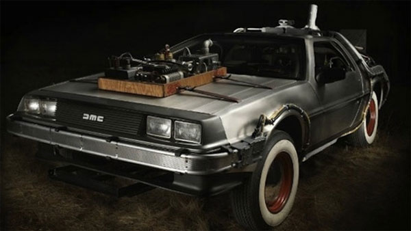 The actual DeLorean from Back to the Future III is up for sale