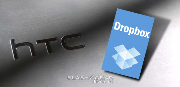 HTC partners with Dropbox, 5GB free on every Android