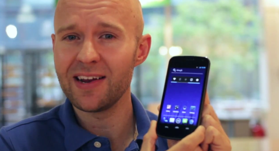 Three UK takes a hands-on look at the Galaxy Nexus [Video]