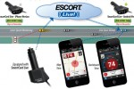 Escort Live SmartCord connects your radar detector to the cloud