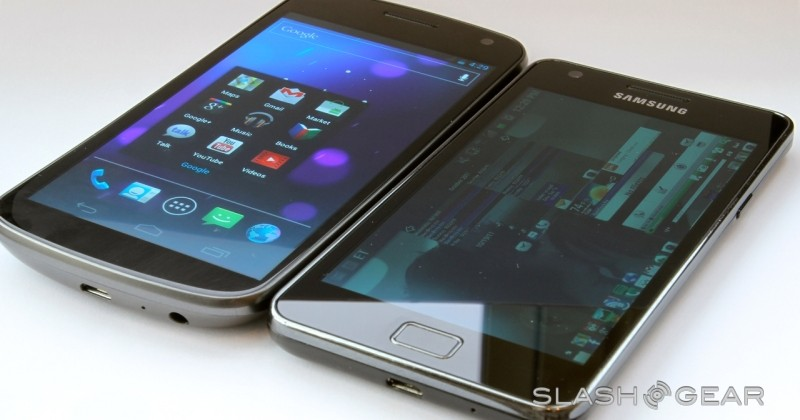 Galaxy Nexus has curved PenTile OLED display