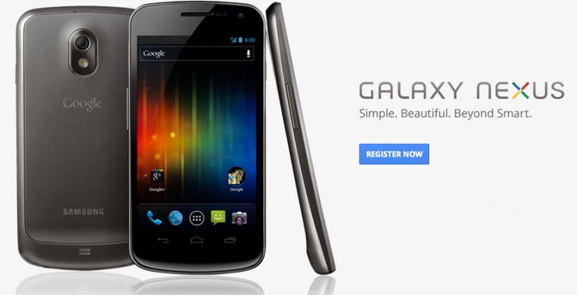 Galaxy Nexus site goes live, Android page gets Tron-style Ice Cream Sandwich video