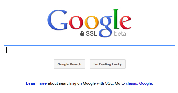 Google Search to be encrypted for signed-in users