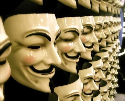 Anonymous takes on child pornographers