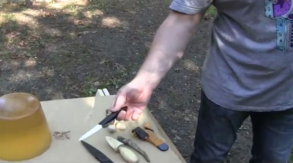 Invisible Weapons tested by slingshot guru Joerg Sprave