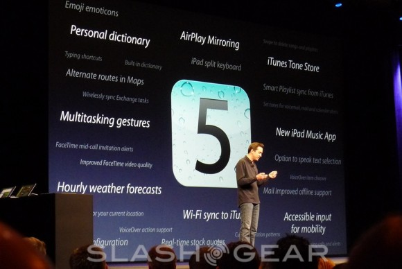 iOS 5 not iPhone 5 is Apple's big deal today