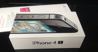 iPhone 4S delivered early in Germany