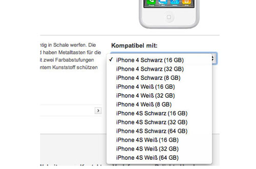 iPhone 4S listings hit Vodafone Germany