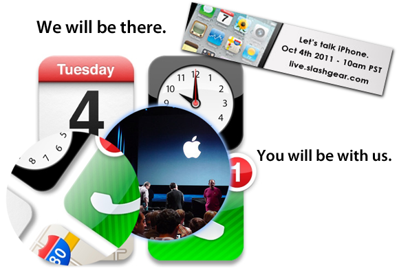 Apple's Let's Talk iPhone 2011 event: Join us LIVE