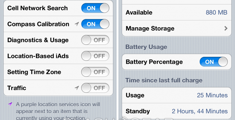 iPhone 4S battery issue points to Setting Time Zone switch