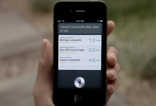 iPhone 4S advert puts focus on Siri
