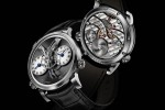 MB&F Legacy Machine 1 watch floats the balance wheel