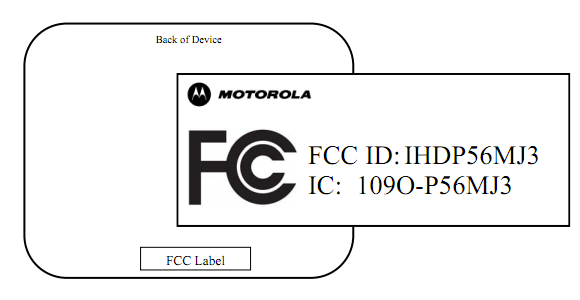 Motorola Tablet hits FCC with scant details