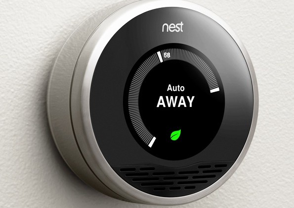 Nest Learning Thermostat makes heating iPod-sexy