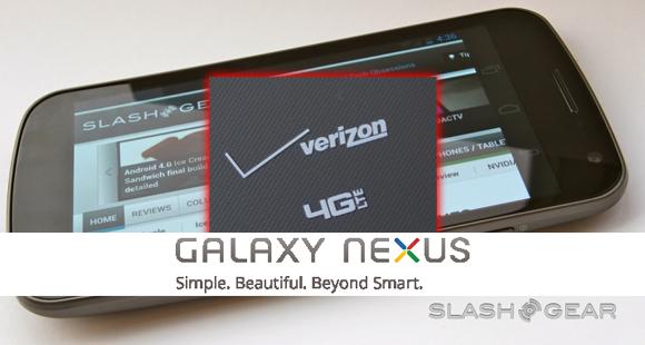 Galaxy Nexus confirmed for Verizon 4G LTE