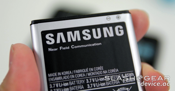 Galaxy S II NFC capabilities inside, dormant for now