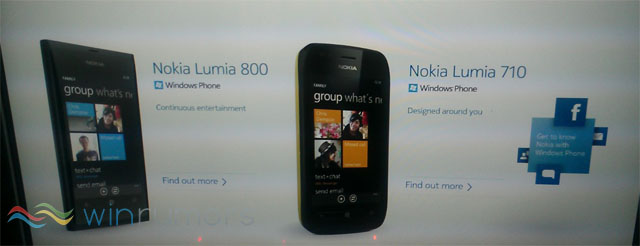Nokia Lumia 800 and 710 Windows Phone devices leaked