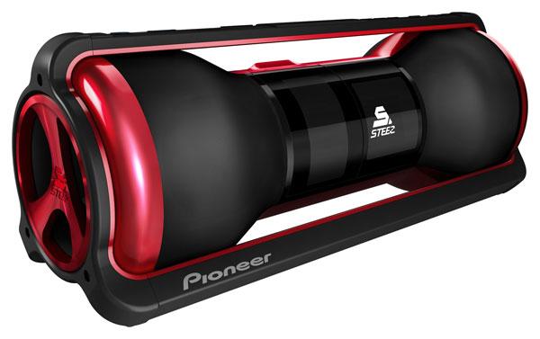 Pioneer unveils Steez portable entertainment gear
