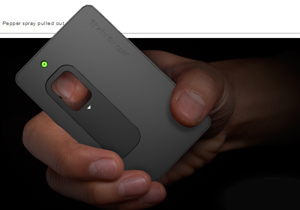 The Business self defense kit is card-sized weaponization