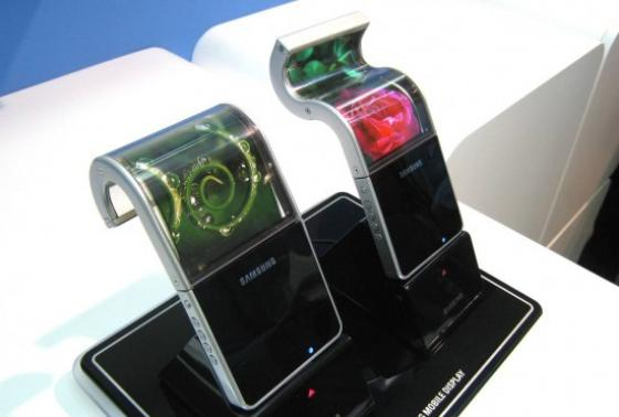 Samsung flexible display phones & tablets in 2012