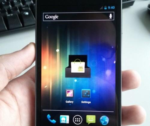 Samsung Galaxy Nexus aka Nexus Prime caught on video