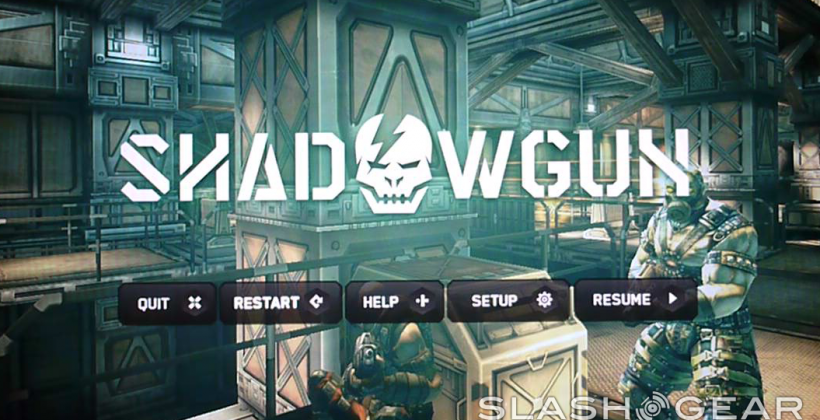 Shadowgun released for Android and Hands-on