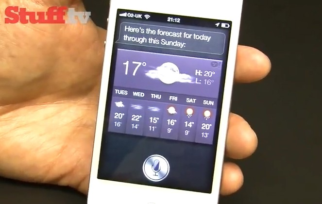 Siri assistant on iPhone 4S gets real world demo