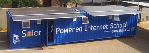 Samsung reveals Solar Powered Internet School for Africa
