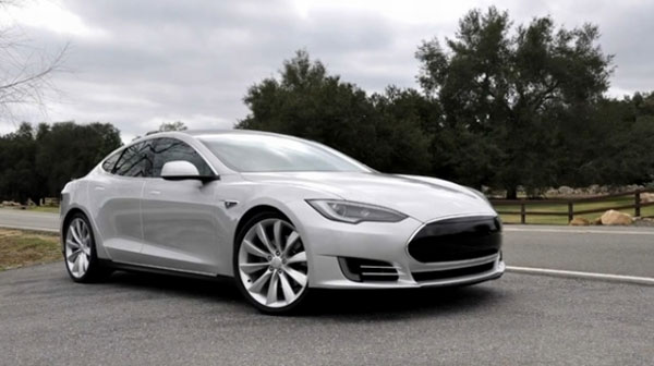 Future owners given a glimpse of the Tesla Model S